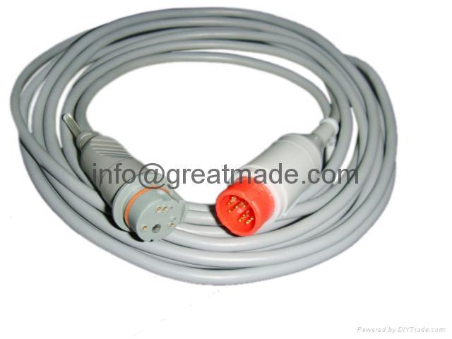 HP -BD  Transducer IBP Cable  1