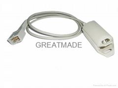 Nellcor DS-100A  OXIMAX Adult finger clip sensor