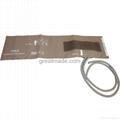 Infant soft dual tube NIBP cuff, 10-19cm