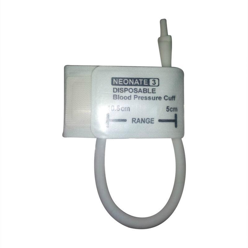 Neonate#3 Disposable Nibp Cuff ,5-10.5cm Arm Circumference ,Single tube 1