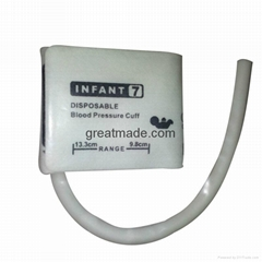 Infant#7 Diposable Nibp Cuff, 9.8-13.3cm Arm Circumference ,Single tube