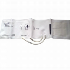 Adult#11 Diposable Nibp Cuff, 25.3-34.3cm Arm Circumference ,Single tube,TPU