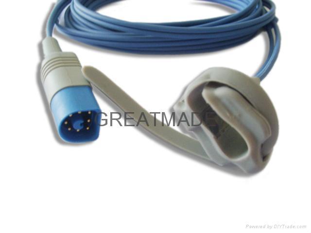 HP M1193A  8PIN Neonate Wrap Spo2  Sensor  1