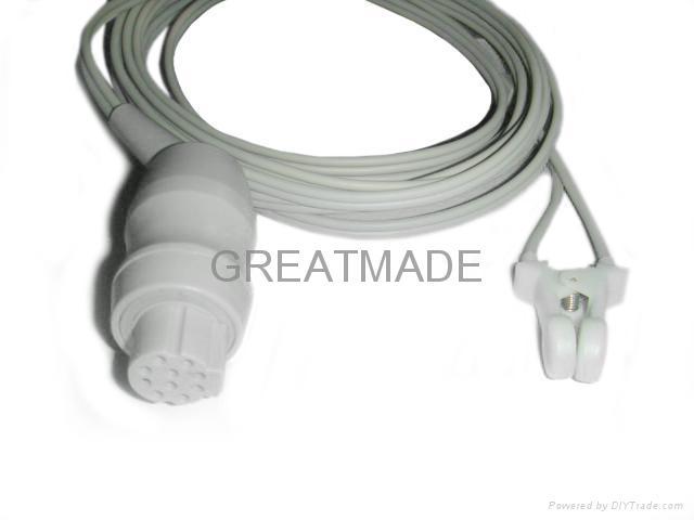 Datex Adult Ear Clip Spo2 sensor  1