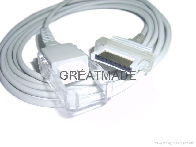 Nonin 8600 Spo2 Adapter cable .   1