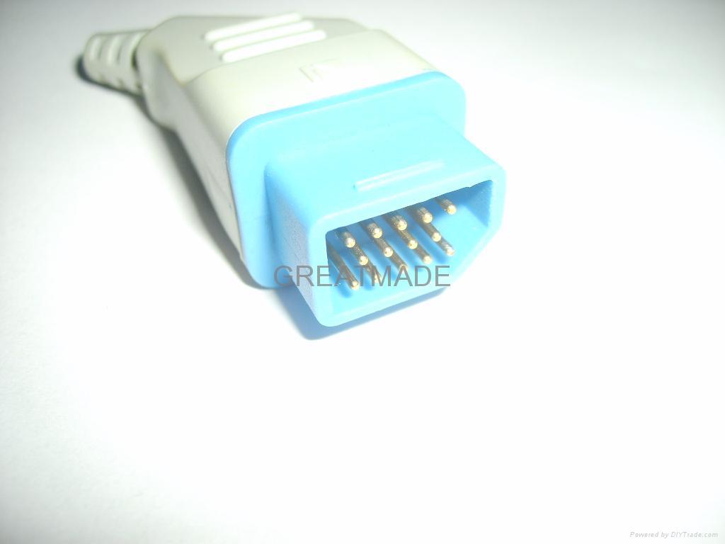 Nihon Kohden JL-900P  Adapter cable  2