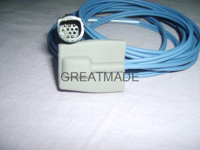 Spacelab pediatric soft tip spo2 sensor  1