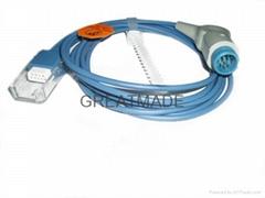 惠暜/菲利普M1900A/B 血氧轉接線