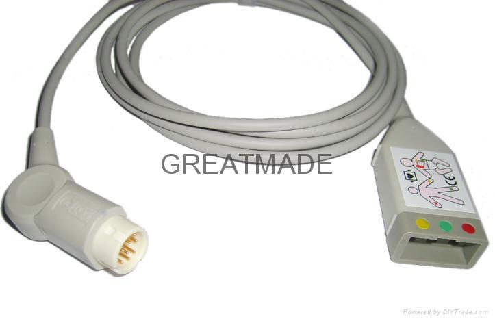 惠普M1510A 三導歐標電纜 1