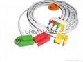 HP M1613A 3-lead IEC Grabber Leadwires