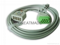GE 2017003-003  5-Lead IEC Trunk Cable