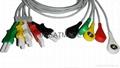 Spacelab  700-0007-11 5-Lead IEC Snap Leadwires  1