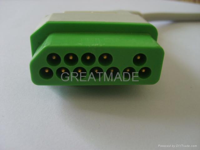 Nihon Kohden JC-906P 6-lead Trunk Cable  2