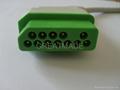 Nihon Kohden JC-906P 6-lead Trunk Cable