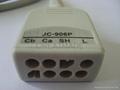 Nihon Kohden JC-906P 6-lead Trunk Cable  3