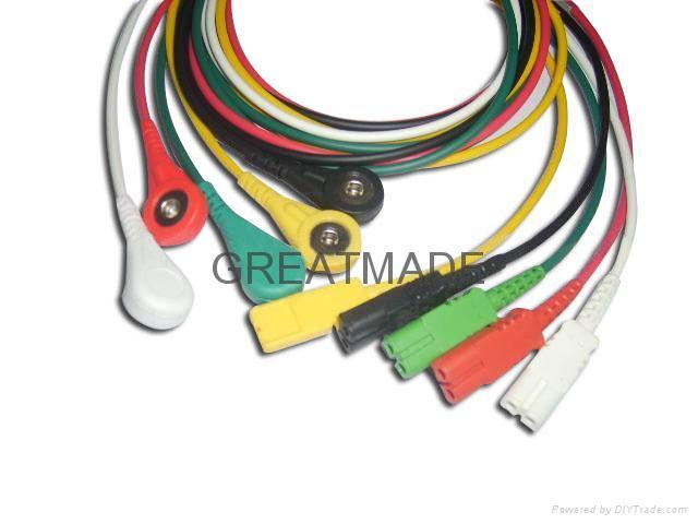 LL 5-lead IEC Leadwires  1