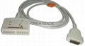 馬葵MAC500/MAC-1200心電圖機電纜 1
