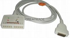 馬葵MAC500/MAC-1200心電圖機電纜