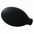 用于医疗器械配件的阀门的血压充气球,黑色
