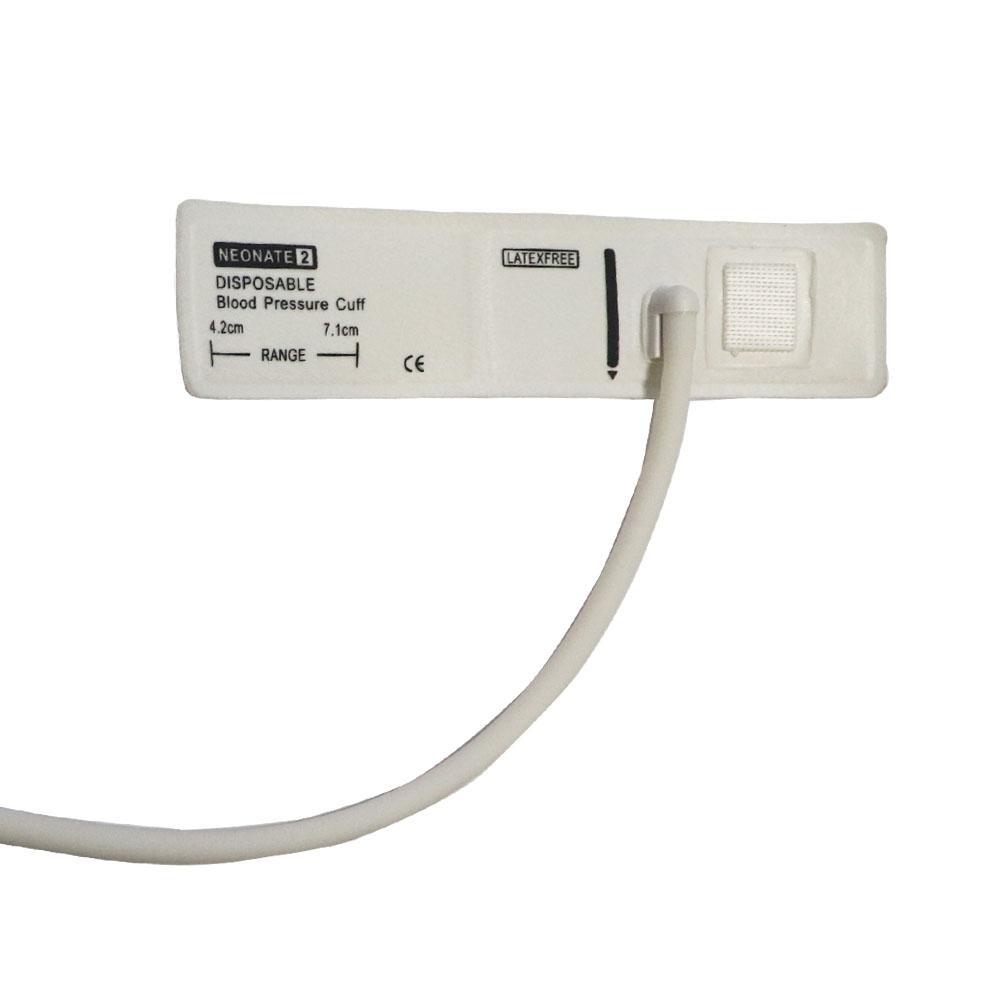 Disposable Neonate Non-woven fabric Cuff ,blood pressure cuff,Single tube 1