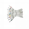 EKG電纜電極適配器,3.0