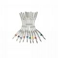 EKG電纜電極適配器,3.0 DIN插座轉換為4.0香蕉插頭引線 2