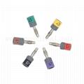 Connector sets, Banana 4.0mm , IEC,