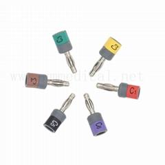 兼容GE CAM14-AM5-AM4 香蕉插4.0mm,欧标,10件/套