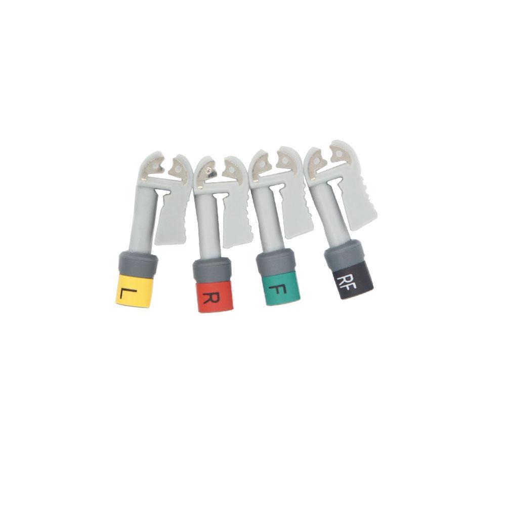 EKG 電纜連接器套件Grabber 美標 10件/套 1