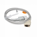Compatible with Nellcor Adapter cable , 14PIN male 3M->DB9F,L=2.5M