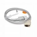 兼容Nellcor适配器电缆,14针公头3M-> DB9F,L = 2.5M,