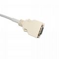 兼容Nellcor適配器電纜,14針公頭3M-> DB9F,L = 2.5M, 2