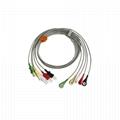 Tru-Link Leadwire sets , 5-Lead , Snap