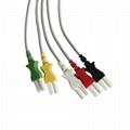 Tru-Link Leadwire sets , 5-Lead , Snap/Grabber , IEC/AHA, 24in & 2PIN  3