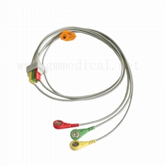 ECG leadwires cable 3-le