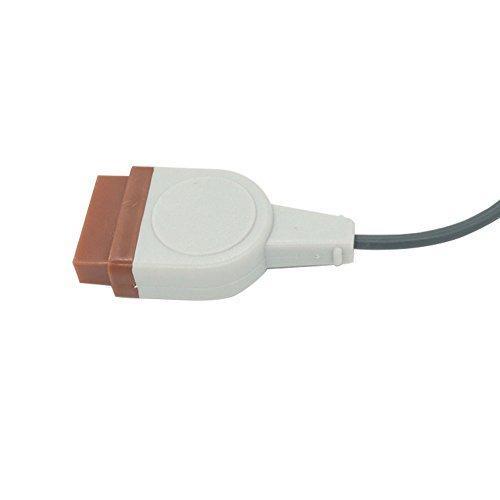 溫度探頭適配器電纜,與GE,電車,太陽能兼容,用於YSI400 3
