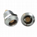 EGG 2K Push-pull circular metal fixed socket 18pin