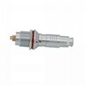 FGG EGG 0K Push-pull circular metal straight plug/fixed socket 9pin