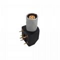 EPG 0B 5针推挽圆形金属直式插座