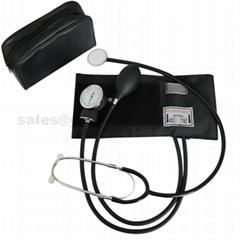手動血壓表帶聽診器醫用血壓表臂式血壓計單管聽診器