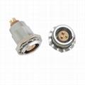 兼容FGG.EGG 0B,2、3、4、5、6、7、9直插头/固定插座金属推挽连接器