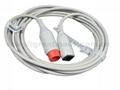 兼容HP-雅培IBP適配器電纜