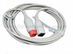 兼容HP-雅培IBP适配器电缆