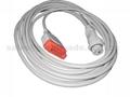 兼容GE  IBP電纜-B.Bruan適配器電纜 1