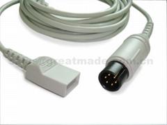 兼容Spacelab 尤它 IBP适配器电缆