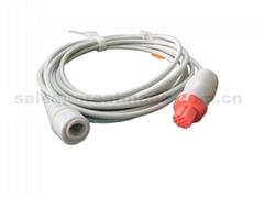 兼容Datex爱德华 IBP适配器电缆