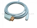 Nihon Kohden Compatible IBP cable with Philips Transducer Adapter