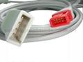 兼容Spacelab尤它IBP适配器电缆