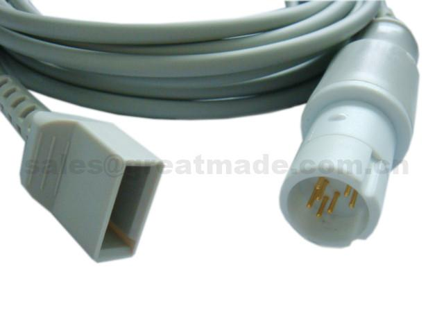 兼容Drager-尤它 IBP適配器電纜 1