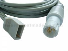 兼容Drager-尤它 IBP适配器电缆